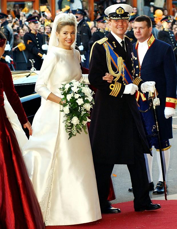Maxima se casou de Versace em 2002 (Foto: Getty Images)
