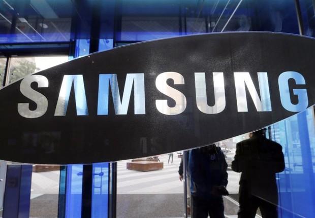 Loja da empresa sul-coreana Samsung (Foto: YNA/EFE)