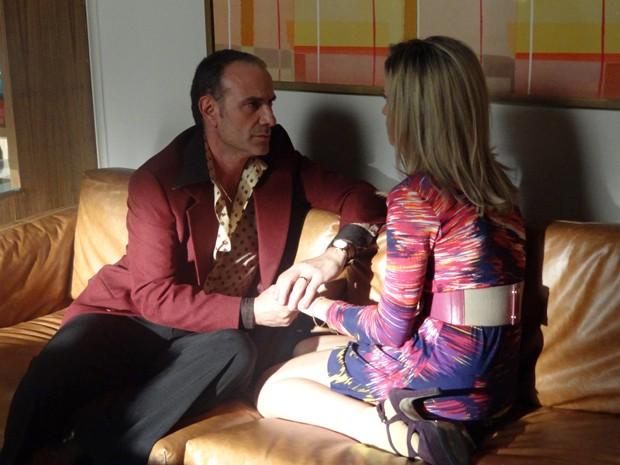 Vitória faz pedido ao pai (Foto: Boogie Oogie/TV Globo)