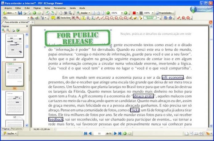 PDF-Xchange Viewer (Foto: Divulgação)