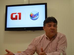 Paulo Hadich admitiu que ainda precisa diminuir déficits importantes em Limeira (Foto: Araripe Cartilho/G1)
