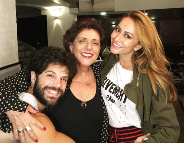 Sabrina Sato com Duda e Leda Nagle (Foto: Reprodução / Instagram)