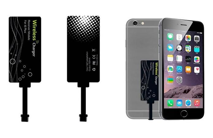 615e1cf49f4 Adaptador para carregamento sem fio para iPhone (Foto: Divulgação/Promate)