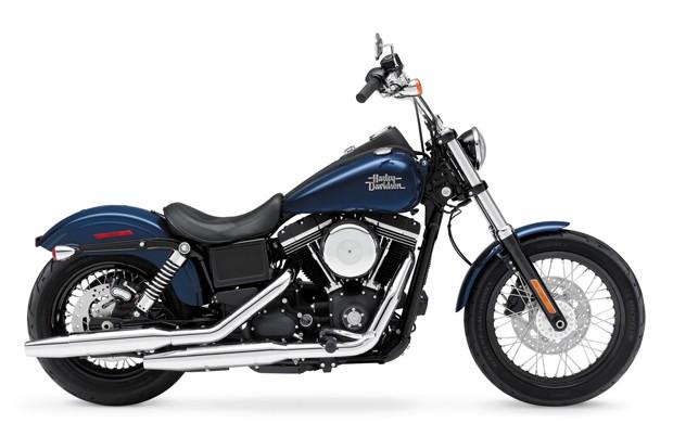 Harley-Davidson Dyna Street Bob 2013 (Foto: Divulgação)