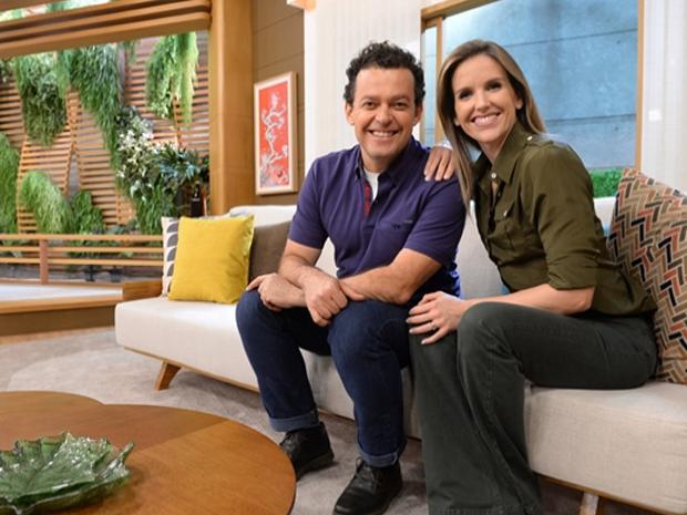 Nos bastidores de 'Bem Estar' (Foto: TV Globo/ Z Paulo Cardeal)