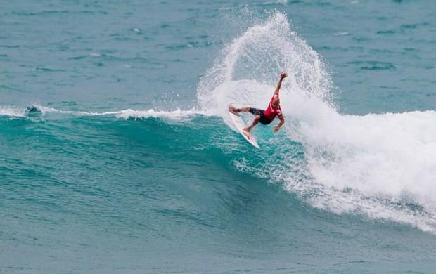 surfe Kelly Slater no WQS de Sunset (Foto: ASP)