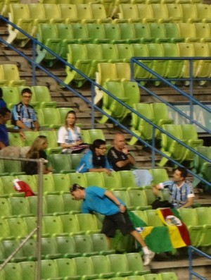 grêmio caracas estádio venezuela libertadores (Foto: Hector Werlang/Globoesporte.com)