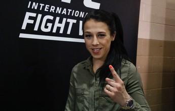 """""""Vou dominar do começo ao fim"""", diz Joanna sobre revanche com Gadelha"""