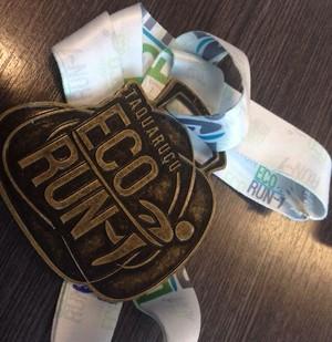 Participantes do Taquaruçu Eco Run vão receber medalhas (Foto: Divulgação)