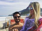 Bárbara Evans curte dia de sol com o namorado, Fabrício Assunção