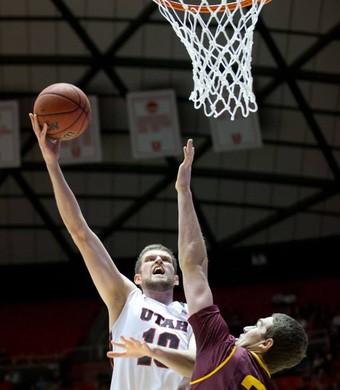 Renan Lenz Utah Basketball (Foto: Divulgação/ University of Utah Men's Basketball)
