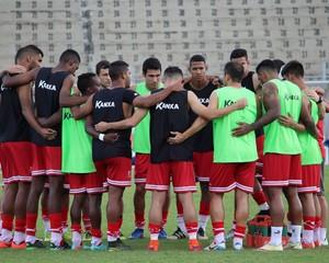 Elenco Capivariano Leão da Sorocabana (Foto: Lucas Oliveira / Capivariano FC)