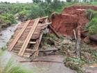 Chuvas destroem uma de cada cinco pontes em Iguatemi, MS