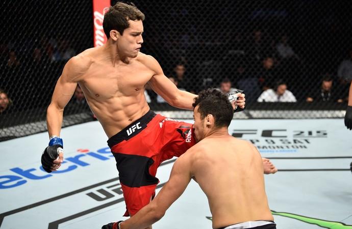 Humberto Bandenay x Martin Bravo UFC México (Foto: Getty Images)