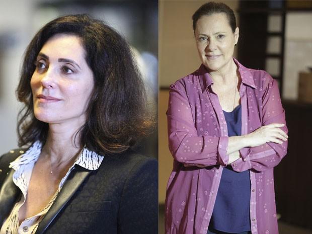 Christiane Torloni e Elizabeth Savala estão no elenco de Alto Astral (Foto: Carol Caminha/Gshow)