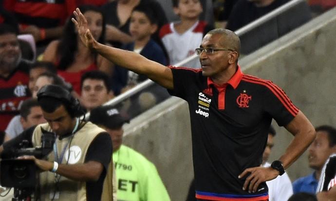 Cristóvão Borges Flamengo x Grêmio Maracanã (Foto: André Durão)