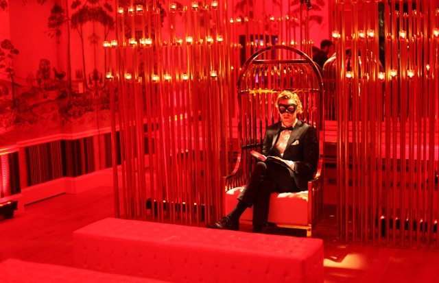 O quarto vermelho (Foto: Andrea D'Andrea)