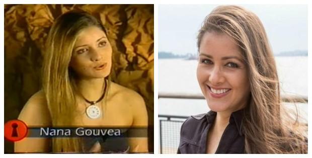 Antes e depois de Nana Gouvêa (Foto: Reprodução de Vídeo | Reprodução do Instagram)