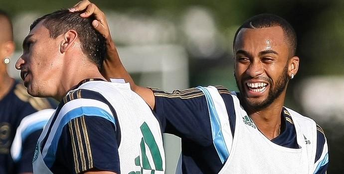 Lucio Palmeiras Wesley Palmeiras (Foto: Cesar Greco/Ag Palmeiras/Divulgação)