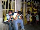 Militantes lamentam resultado em CG (Jocélio Oliveira/G1)
