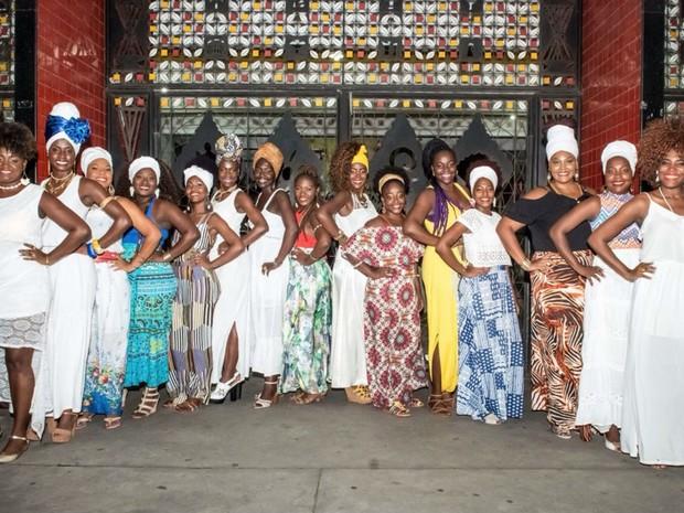 15 candidatas irão concorrer ao título de Deusa do Ébano (Foto: André Frutuoso / Divulgação)