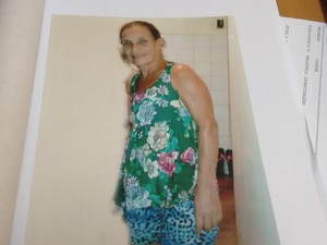 Suspeito tinha interesse na vítima, uma prima de 54  anos (Foto: Zana Ferreira /G1)
