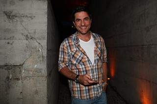 Rodrigo Veronese no show de Madonna (Foto: Iwi Onodera / EGO)
