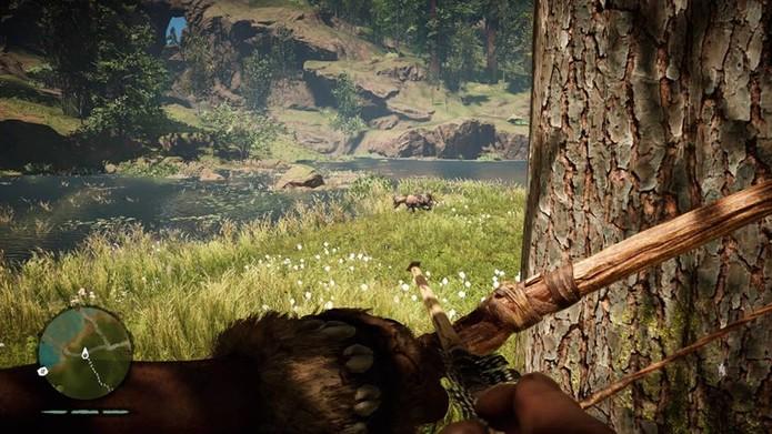 Aprenda a caçar em Far Cry Primal (Foto: Reprodução/Felipe Vinha)