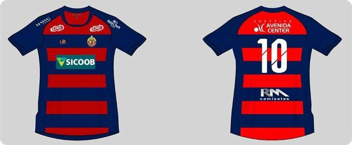 Sete de Dourados faz camisa inspirada no uniforme do Sport (Foto: Divulgação/Sete de Dourados)
