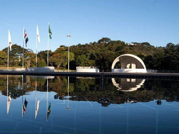 Concha Acústica campus UFJF (Foto: Eduardo Garcia / Arquivo)