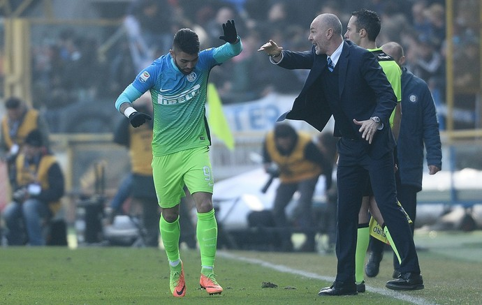 Gabigol Inter de Milão Bologna (Foto: Getty Images)