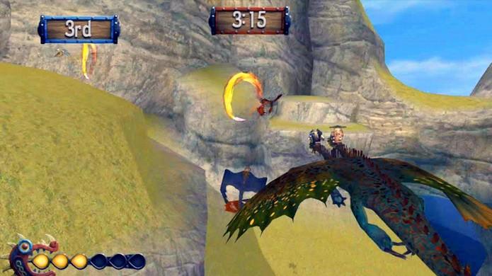 Encontro de Guerreiros é uma disputa bem difícil contra os outros montadores de dragão (Foto: berkgrapevine.com)