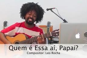 Cantor Leo Rocha faz composição baseada em cena de ciúme de Ivete Sangalo (Foto: Youtube / Reprodução)