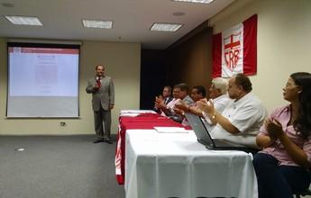 Eleição para presidente do CRB está na pauta do conselho para este mês