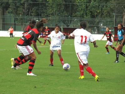 Flamengo x Bangu Carioca feminino (Foto: Jessica Mello / GloboEsporte.com)