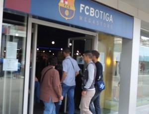 estadio loja barcelona   (Foto: Cassio Barco)
