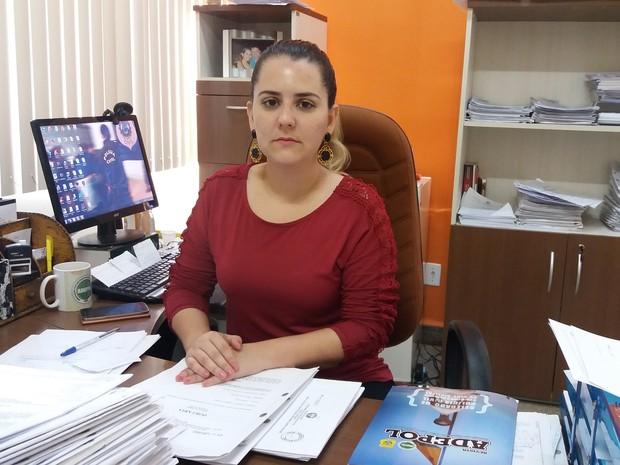 Delegada afirma que a maioria dos agressores são ex-companheiros e ex-maridos (Foto: Iryá Rodrigues/G1)