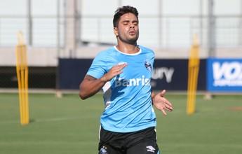 Henrique Almeida é regularizado e fica livre para estrear pelo Grêmio