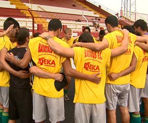 Jogadores do Batatais (Foto: Ronaldo Gomes / EPTV)