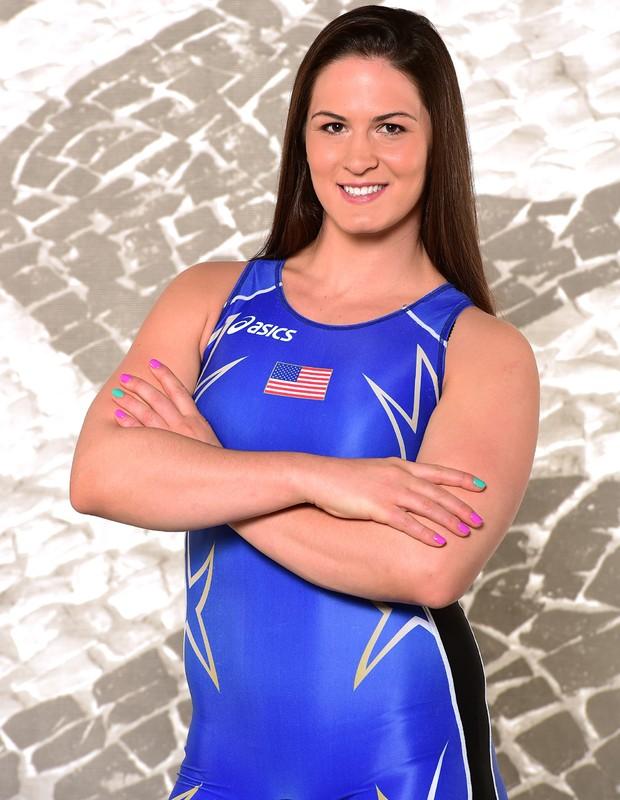 Adeline Gray,atleta americana de luta olímpica (Foto: Harry How/Getty Images)