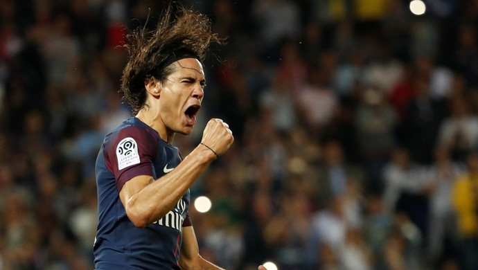Cavani gol PSG Saint-Étienne (Foto: Reuters)