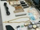 Operação em Joinville prende 6 e apreende armas, munições e colete