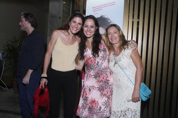 Claudia Mauro com Maria Zilda e sua companheira, Ana Kalil (Foto: Thyago Andrade/Foto Rio News)