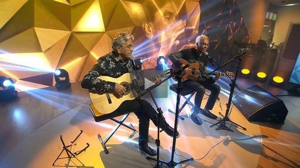 Caetano e Gil (Foto: Divulgação)