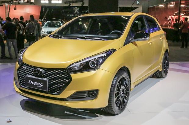 Hyundai Dspec Concept no Salão do Automóvel 2016 (Foto: Marcos Camargo/Autoesporte)