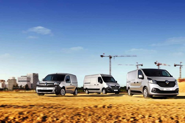 Linha de Veículos Comerciais Leves da Renault (Foto: Divulgação)