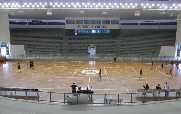 Arena Santos  (Foto: Bruno Gutierrez / Globoesporte.com)