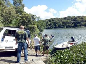 Fiscais da Secretaria Municipal de Meio Ambiente participaram de operação com a Polícia Ambiental. (Foto: Divulgação/ Polícia Ambiental)