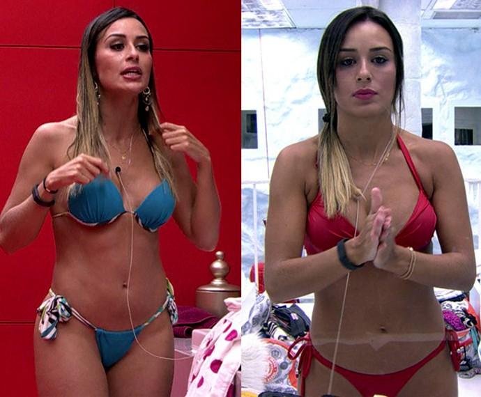 leticia na casa bbb (Foto: Tv Globo)