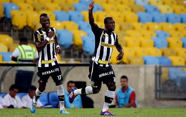 seedorf botafogo gol atlético-pr maracanã (Foto: Vitor Silva / SSPress)